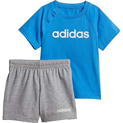 adidas I Lin Sum Trainingsanzug, Unisex, für Babys, mehrfarbig (blau/weiß), 62