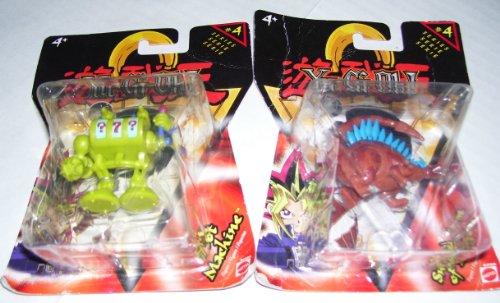 Yu Gi Oh Yu-Gi-Oh! Mini Action Figures - Sword Arm of Dragon & Slot Machine