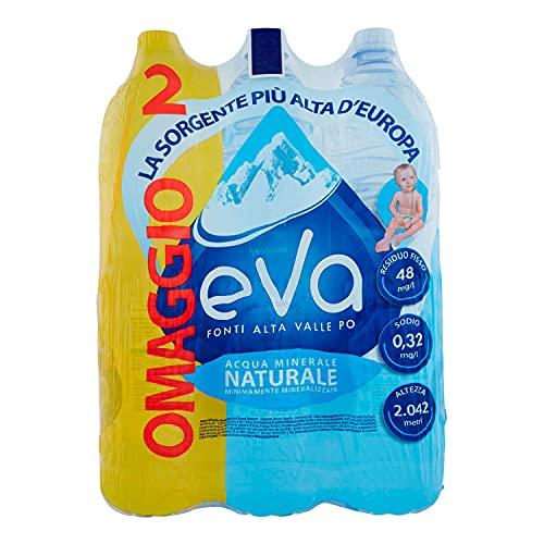 Eva Natuurlijk water, 1,5 l, 6 stuks.