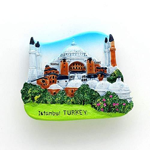 Imán magnético 3d nevera nevera viaje viaje imanes Bután Japón Alemania Turquía Australia viaje recuerdo colección regalo