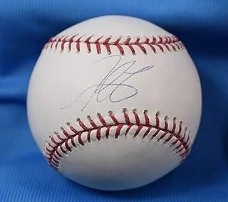 Derek Lee Steiner Cert Autograph Major League OML Hand Signed Baseball