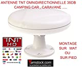 Antenne TNT camping-car 35DB Omnidirectionnelle , caravane , camping car