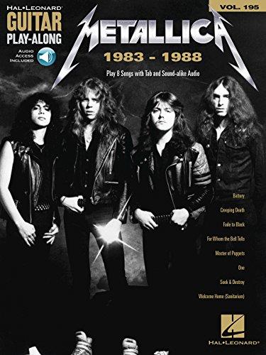 Metallica: 1983-1988: Guitar Play-Along Volume 195 (English Edition)