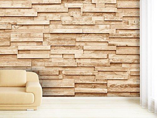 Fotobehang Wood Plank in verschillende maten - als papier of vliesbehang selecteerbaar 420x270cm
