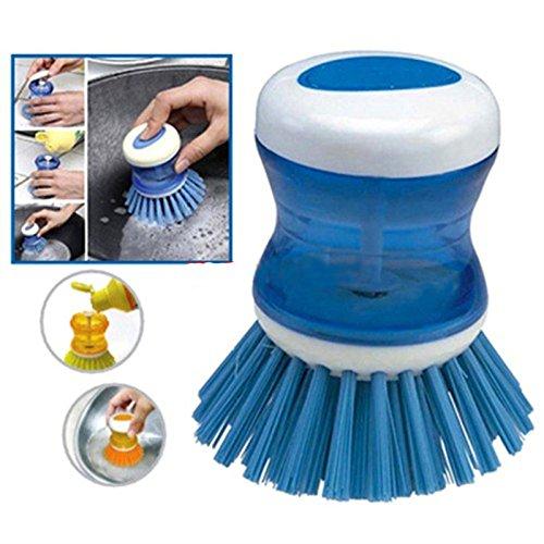 Interesting® Herramientas de la Cocina, Plato Lavabo Bote jabón líquido Cepillo Botella detergente Limpiador