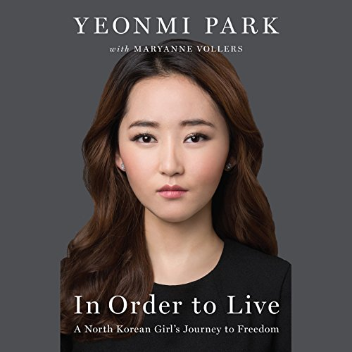 In Order to Live audiobook cover art