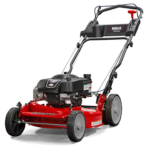 Snapper RP2185020 / 7800981 NINJA 190cc 3-N-1 Rear Wheel Drive Variable Speed Self-Propelled Lawn Mower with 21-Inch Deck and Ready Start System, Ninja Mulching Blade and 7 Position Heigh-of-Cut
