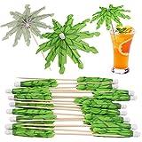 OOTSR Palillos de papel para paraguas decoraciones, 20 piezas, palillos de...