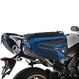 Oxford OL317 Blue 50 L Saddlebag/Pannier (P50R Motorcycle)
