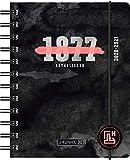 """BRUNNEN 1071750011 """"Neon"""" Tageskalender/Schülerkalender 2020/2021, 1 Seite = 1 Tag, Sa. + So. auf einer Seite , Blattgröße 12 x 16 cm , A6 , PP-Einband"""