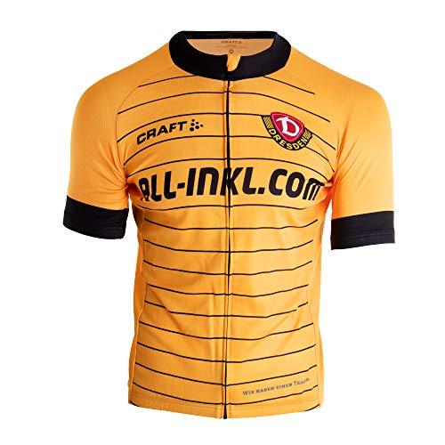 SG Dynamo Dresden Craft Radtrikot 2019/20 gelb, Größe:3XL