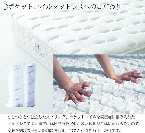 日本ベッド製造『シルキーポケット(ウール入)』