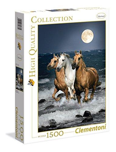 Clementoni Cavalli in Corsa High Quality Collection Puzzle, Multicolore, 1500 Pezzi, 31676