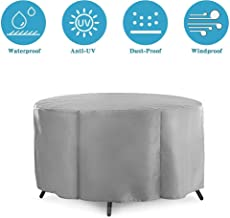 Furniture Cover, Garden Furniture Covers Waterproof Dining Set Cover Patio Furniture Table Chair Covers Outdoor Table Cove...