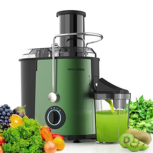 Juicer Machine, Juice Extractor with Wide Feed Chute for...