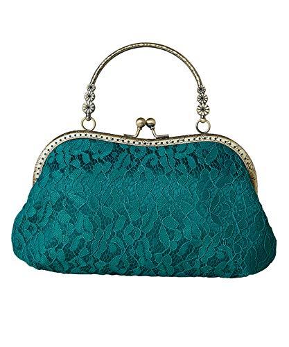 Joe Browns Damen Montrose Vintage Bag Clutch, Grün, One Size
