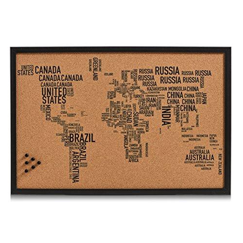 Zeller 11570Pin Bord World Letters