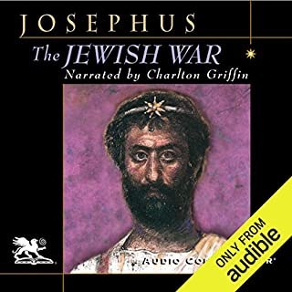 The Jewish War audiobook cover art