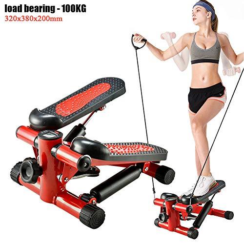 Twist Sportgerät, Mini Stepper, Aerobic Swing Fitness Stepper, Sportgerät Beintrainer für Zuhause,Trainingsgerät für Bauch und Beinen, Belastung -100KG