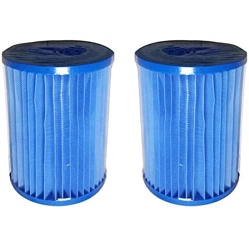 Fenengcheng - Filtro antibacteriano, genérico II, cartuchos de filtración para filtro de piscina, 2 unidades
