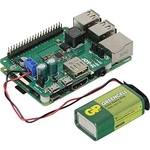 Joy-it StromPi 2 USV-Shield Passend für: Raspberry Pi, Banana Pi, Arduino, Cubieboard