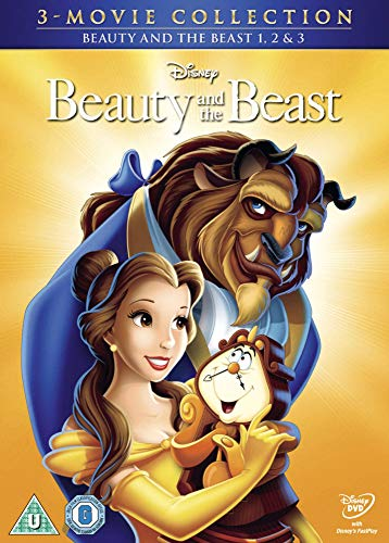 Beauty and the Beast/Belle's Magical World/ Enchanted Christmas - Triple Pack [Region 2 Format DVD]