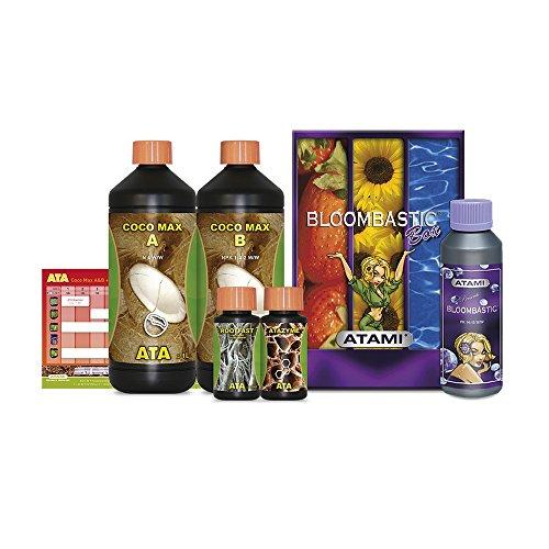 Düngerkomplettset für Pflanzenbau und -wachstum Atami ATA Bloombastic Box (Coco)