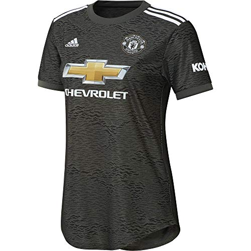 adidas Manchester United Temporada 2020/21 MUFC A JSY W Camiseta Segunda equipación,...