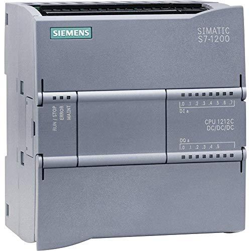 Siemens st70-1200 - Cpu 1212 contactos dc/dc/dc e/s 8 ed 24v...