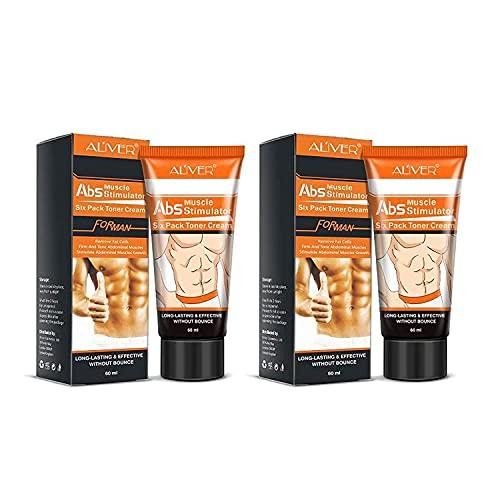 Hot Cream 2Pcs,Anti Cellulite Cream, Fat Burning Cream - Natural Body Slimming Cream for Abdomen, Arms and Thighs