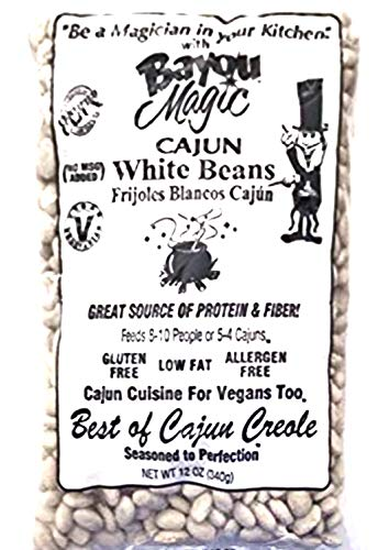 Bayou Magic Cajun White Beans (6 count)