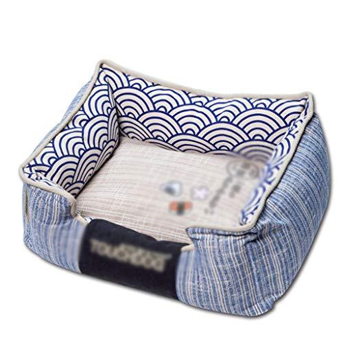 XHYLQG Cama for Perros Lounge Sofá Funda extraíble Colchón Memory-Foam Premium Prestige Edition (Size : 65CM*55CM*25CM)