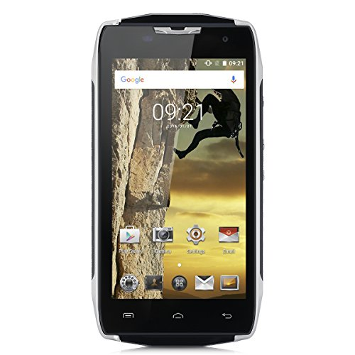 "DOOGEE T5 Lite 5"" 4G Smartphone IP67 Impermeabile Android 6.0 Marshmallow MT6735 Quad Core 1.3GHz 2GB RAM 16GB ROM, 1280 x 720p SONY IMX219 8.0MP AF+5.0MP FF Carica Rapida Intelligente scia, 4500mAh Dual SIM"