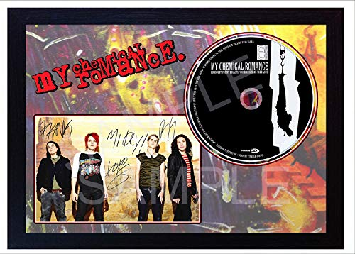 SGH SERVICES New! My Chemical Romance - Discos de CD con Texto en inglés I Brought You My Bullets, You Brought Me Your Love