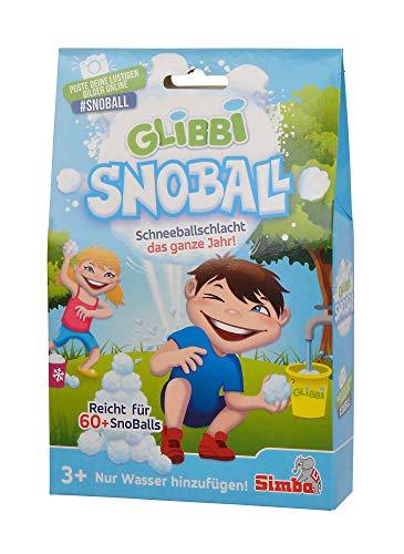 Simba  105953183 Glibbi Snoball, Schneeballschlacht, Gelmasse, ab 3 Jahren
