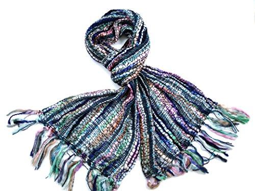 COOL TRADE WINDS LADIES SUPER SOFT – MULTI COLOUR SCARF: Mooie contrasterende kleuren die bij veel outfits of winterjassen passen