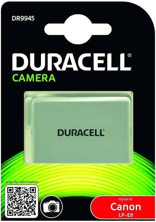 Duracell Dr9945 Li Ion Kamera Ersetzt Akku Für Lp E8 Kamera