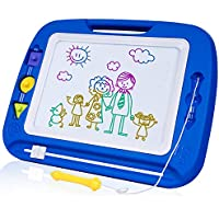 SGILE Pizarra Magnética Infantil, Grande Color Magnético Doodle Sketch Pad, Juguetes Non Tóxico para Niños Infantiles, 32.5x41.5