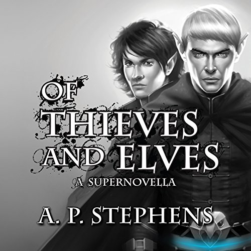 Of Thieves and Elves audiobook cover art