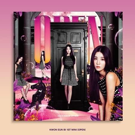 ★ポスター丸めて★[ OUT Ver. 発送 ] KWON EUN BI - 1ST MINI ALBUM [ OPEN ] 韓国盤