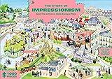 The Story of Impressionism: Spot the Artists in Belle Époque Paris: 1000 Pieces