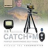 Saber Catch M8 Smartphone Self Take Photo Carp Fishing Camera Tripod + Flash