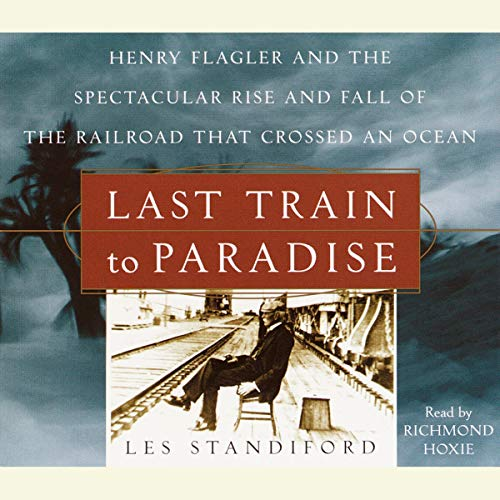 Last Train to Paradise audiobook cover art