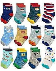 Trendy Dukaan Baby Boy's Cotton Hosiery Socks (Pack of 6)