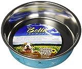 Loving Pets Bella Bowl Designer & Expressions Dog Bowl, Medium, Dragonfly, Turquoise