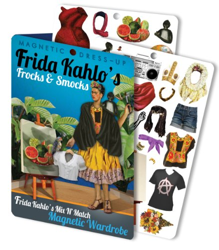 The Unemployed Philosophers Guild Frida's Frocks and Smocks - Frida Kahlo Magnetic Dress Up Doll Play Set
