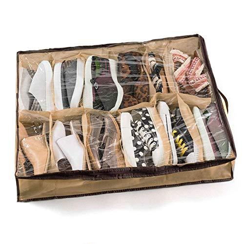 Maoviwq Caja de zapatos portátil bolsa de almacenamiento ligera bolsa de viaje para señoras zapatos de hombre
