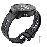 ANBEST compatible con Garmin Vivoactive 3/Vivomove HR/Forerunner 245/645 pulsera, Galaxy Watch 42 mm...