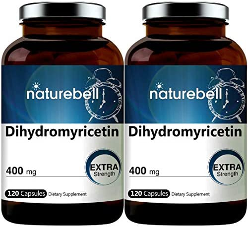 2 Pack NatureBell Dihydromyricetin DHM as Hovenia Dulcis Extract 400mg 120 Capsules Alcohol product image