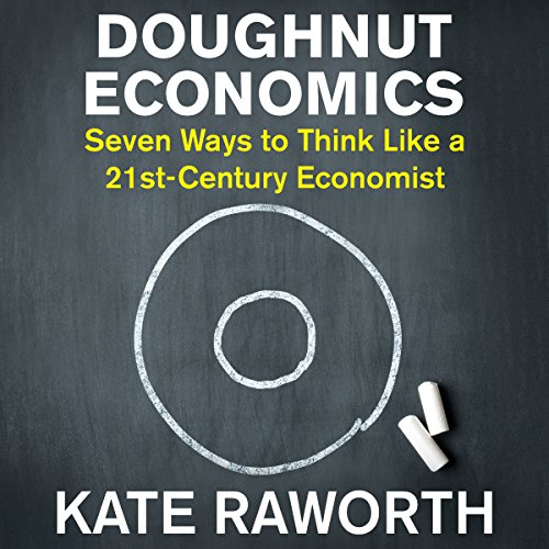 Doughnut Economics audiobook cover art